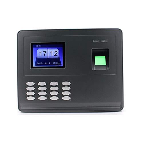 Unbekannt Genaue Fingerabdruck-Zeit-Anwesenheits-Maschine Chinesisch/Englisch Freie Software Zeiterfassung Maschine mit Batteriestromausfall empfindlich