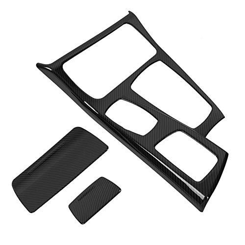 Piezas de automóviles 1 Juego Coche Center Console Cambio Engranaje Ajuste De La Cubierta Panel para BMW 5 Series F10 2011 2012 2013 2014 2015 2016 Fibra De Carbono Decoración (Color : 2)