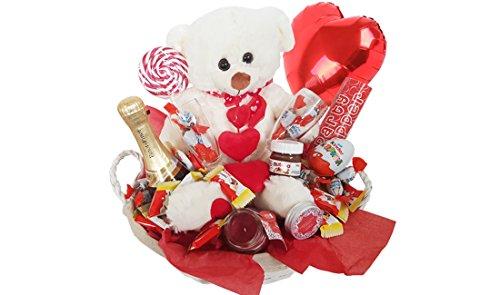 IRPot - Cesto Fai da Te San Valentino KITSV22 Regalo Innamorati Cioccolato Kinder