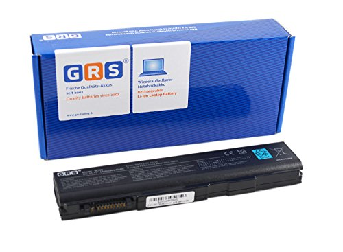 GRS Batteria per Toshiba Tecra A11 M11 P11 S11 Dynabook Satellite B450/B B550/B B650/B K40 K45 L40 L45 Satellite PRO S500 Compatibile: PA3786U-1BRS, PA3787U-1BRS, PA3788U-1BRS, PABAS221, PABAS222