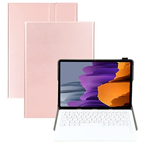 Custodie per cellulari Custodia in pelle orizzontale a flip orizzontale per la tastiera Bluetooth staccabile A970 per la scheda Samsung Galaxy S7 FE T730 / T736 / S7 + T970 / T975 / T976 Custodie per