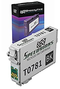 Speedy Inks Remanufactured Ink Cartridge Replacement for Epson 78  Black