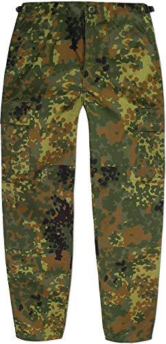 normani Kinder Kids Rangerhose Freizeithose Farbe Flecktarn Größe S/122-128