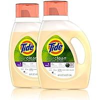 2-Count Tide Purclean Honey Lavender Liquid Laundry Detergent
