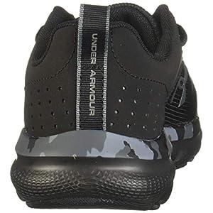 Under Armour Men's Charged Assert 8 Camo Running Shoe, Black (001)/Black, 13