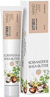 4 für 3 Aktion UMIDO Hand-Lotion Set 45 ml Koriander & Shea-Butter | 4 Stück zum Preis für 3 Stück | Handcreme | Pflegecreme | Lotion | Hautpflege | Handcreme Set