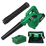 Best Cordless Leaf Blower Vacs - KIMO 20V Cordless Leaf Blower, 2-in-1 Battery Powered Review