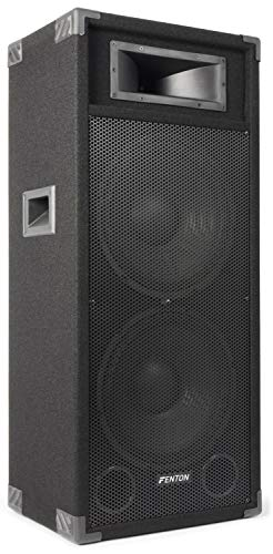 """Fenton CSB215 Altavoces PA activos 2x38 cm (15"""") 1600W"""