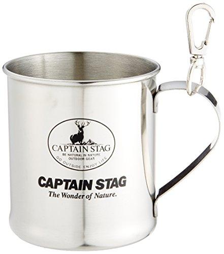 キャプテンスタッグ レジェルテ ステンレスマグカップ300ml(スナップ付) M-1244