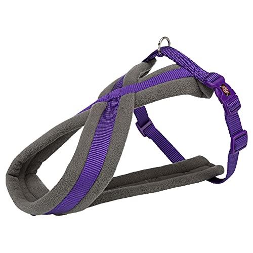TRIXIE Pettorina Comfort New Premium Viola per cani