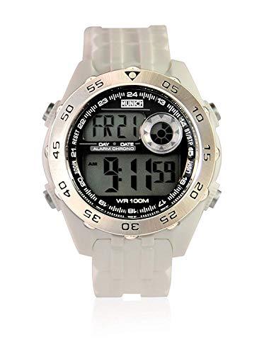 Munich Reloj Digital para Unisex Adultos de Cuarzo con Correa en PU MU+111.7A