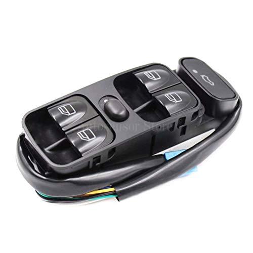 KUANGQIANWEI Botonera elevalunas Interruptor Fit Ventana de Control de alimentación for A2098203410 Mercedes Clase C W203 C180 C200 C220 2038210679 A2038200110 A2038210679