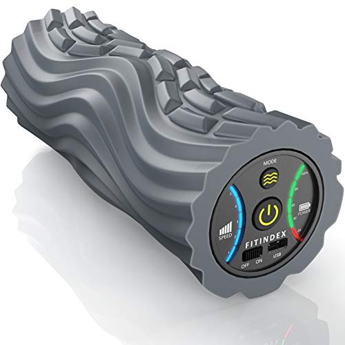 FITINDEX Vibrating Foam Roller (5-Speed)