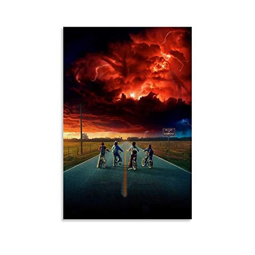 LIANGBO Movie Poster, for Stranger Things, poster decorativo da parete per soggiorno, camera da letto, 20 x 30 cm