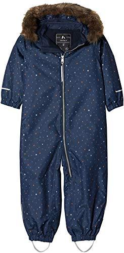 NAME IT NAME IT Baby-Jungen NMMSNOW08 Suit AOP Star FO NOOS Schneeanzug, Mehrfarbig (Sky Captain Sky Captain), 80