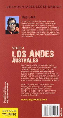 Viaje a los Andes australes: (Argentina, Chile y Bolivia) (Grandes Viajes)