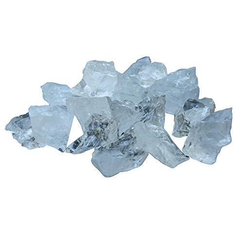 ZGZNB Natürlicher weißer Kristall rauer großkörniger Schotter Aromatherapie Diffuser Stein Originalmineralproben Ornamente