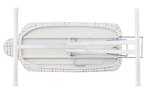 山崎実業(Yamazaki)スタンド式人体型アイロン台プレミアム約90X37X25~78cmボタンプレス機能13段階高さ調節4620