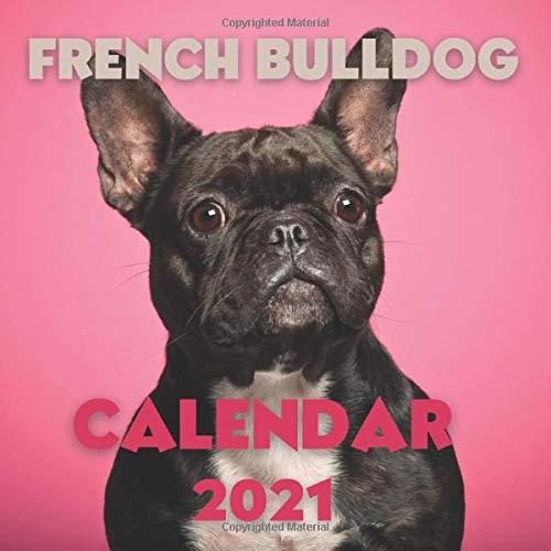 French Bulldog Calendar 2021: Cute Calendar Gag gift for Dogs Lovers