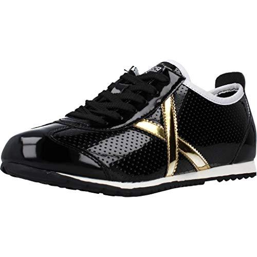 Munich Osaka 463 Negro/Oro 8400463 Zapatillas para Mujer, 37