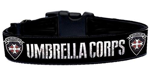 Resident Evil Umbrella Corps Collar Perro Hecho A Mano Talla XL Handmade Dog Collar