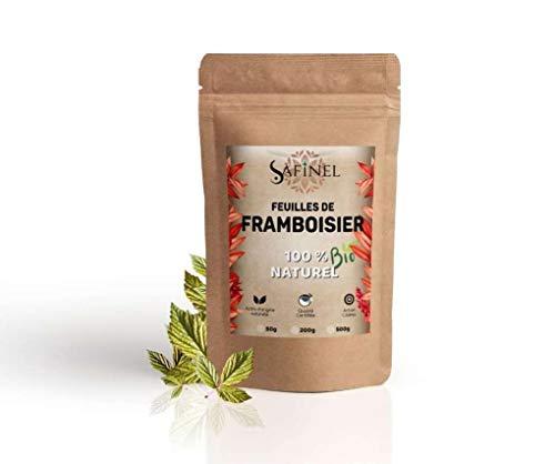 Tisane De Feuilles de framboisier séchées - BIO Certifié - 100% naturelle ( 200 grammes pour environ 90 tisanes )