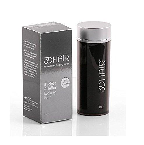 3D Hair Fibres for Thinning Hair Light Brown 35g
