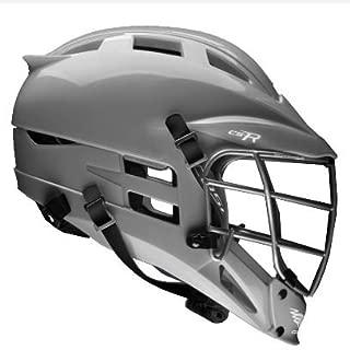 Cascade CS-R Lacrosse Helmet (Silver Shell/Silver Facemask)