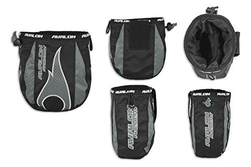 Avalon tiro con arco funda bolsa para almacenar sus Release la AID y accesorios, gris