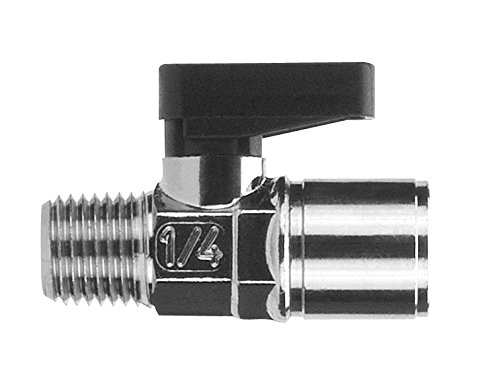 AIGNEP USA 86310-02-02 Mini Ball Valve 67% Raleigh Mall OFF of fixed price NPTF Male x Female 8