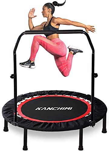 "Kanchimi 48"" Foldable Mini Trampoline for Adults"