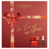 L'Oréal Paris - Set de regalo hidratante y lápiz labial para el cuidado de la piel