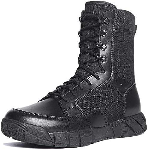 ANNMAX Bottes de Combat pour pour Hommes, Chaussures de randonnée, Forces spéciales Ultra-légères, Chaussures de randonnée,B-38  obtenir la dernière