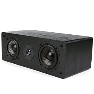 Micca MB42-C Center Channel Speaker with Dual 4-Inch Carbon Fiber Woofer and Silk Dome Tweeter (Black, Each) (B00HH2GINM) | Amazon price tracker / tracking, Amazon price history charts, Amazon price watches, Amazon price drop alerts