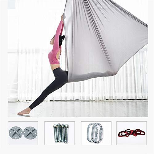 QHGao Anti-zwaartekracht-yoga op het hoofd geplaatst, anti-zwaartekracht plafond, yoga-schommel/lus/omkeergereedschap fitness trainingsaccessoires