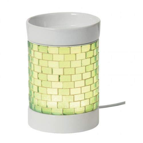 Yankee Candle - Quemador eléctrico con purpurina, color verde