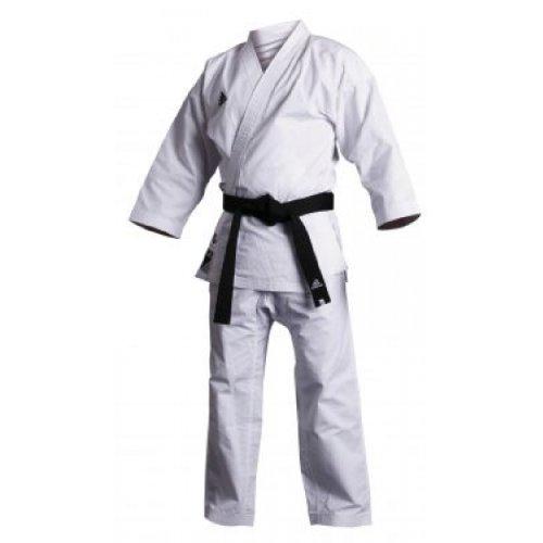 adidas Kumite Erwachsene Karateanzug, Weiß, 200cm