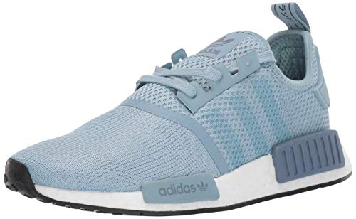 adidas Originals Women's NMD_r1 Running Shoe, ash Grey/ash Grey/raw Steel, 7 M US