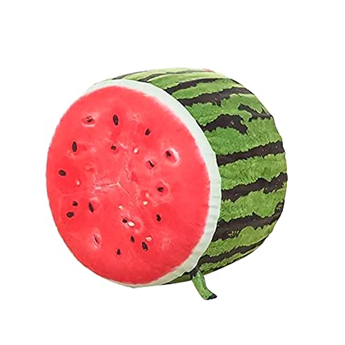 Taburete Inflable de Frutas Divertidas de 30x36 cm, reposapiés otomanos, Silla con Bolsa de Frijoles, Silla con cojín Inflable portátil para sofá, para Interiores y Exteriores