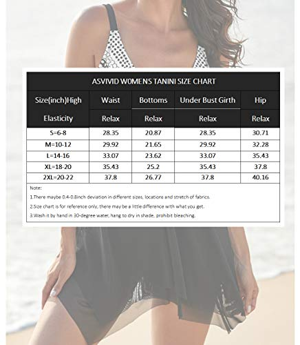 Asvivid Womens Polka Dot Color Block 2 Piece Swimming Costume V Neck Plus Size Sleeveless Swim Tops with Shorts Purple