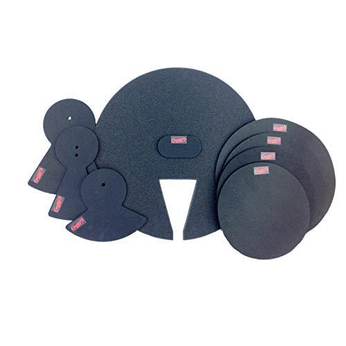 Schalldämpfer Praxis Pads für Drum Kit–American Fusion–Drum Kit Dämpfer