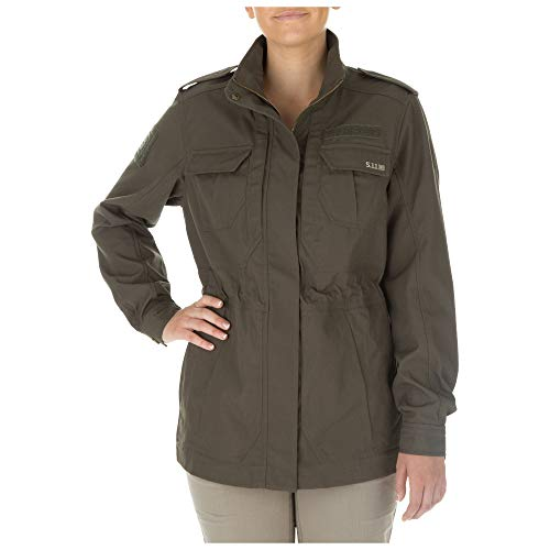 5.11 Tactical Series Taclite M-65 Veste polyvalente Femme Tundra FR : M (Taille Fabricant : M)
