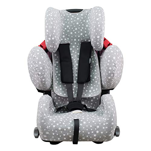 Janabebe Funda para Recaro Young Sport Hero (WHITE STAR)