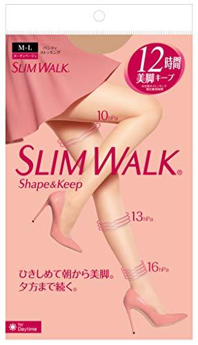 슬림워크 (SLIM WALK) 셰이프 앤드 Keep(Shape&Keep) 팬티스타킹 M~L사이즈 착압 스타킹