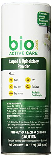 BioSpot Active Care Carpet Powder 16 oz