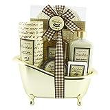 Confezione Regalo per Donna | Prodotti da Bagno al Profumo di Cioccolato | Regalo Compleanno per le Donne | Cestino di Bellezza, Cura e Benesserey |Regali per Lei | CHOCOLAT