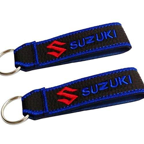 Suzuki cordón Llavero Doble Cara (1 Pieza)