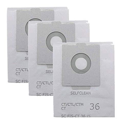 JJDD Stofzuiger Stofzuigerzak Stofzuiger Vervang Voor Festool CT36E Cleaner Accessoires