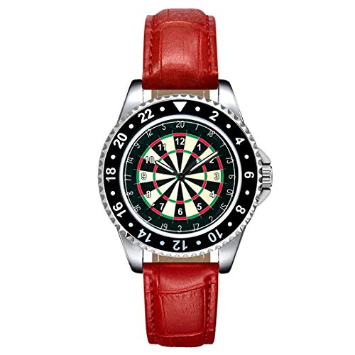Timest - Tablero de Dardos - Unisex Reloj con Correa de Silicona Morado Analógico Cuarzo SE1336pu