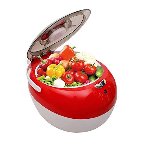 STBAAS Inteligente Vegetal de la Fruta Lavadora - Frutas y Verduras esterilizador, 7L Capacidad, sincronización Inteligente, una Limpieza rápida